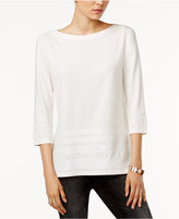 Tommy Hilfiger Esme Sequin-Detail Top, Only at Macy's