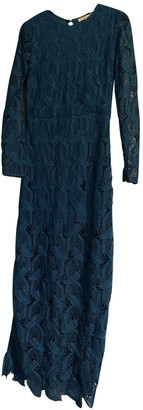 Maje Blue Lace Dresses