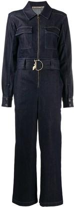 Patrizia Pepe Workwear belted jumpsuit