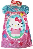Hello Kitty Girls Night Gown with Hair Band Toddler 2T