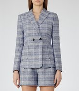 Reiss Jada Jacket Checked Blazer