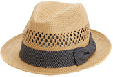 Nick Graham Men's Jorge Vented Straw Fedora