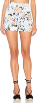 Lucca Couture Scalloped Fitted Short