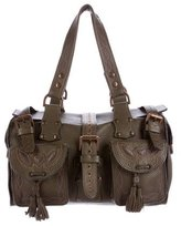 Mulberry Stitched Leather Roxanne Bag