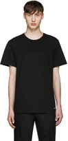 Calvin Klein Underwear Three-Pack Black Classic-Fit T-Shirt