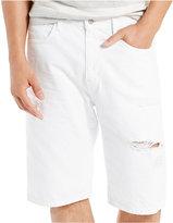 Levi's Men's 569 Loose-Fit White Shorts