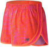 """New Balance Women's WS53163 Accelerate 2.5"""" Printed Short"""