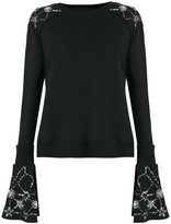 Andrea Bogosian - embellished jumper - women - Cotton/Polyester - PP