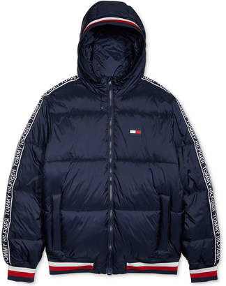Tommy Hilfiger Adaptive Men Cabin Puffer Jacket with Magnetic Zipper