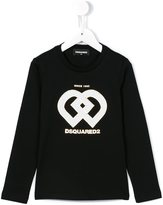 DSQUARED2 geometric logo top