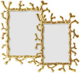 One Kings Lane Asst. of 2 Coral Frames - Gold