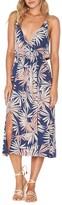 L-Space Women's L Space Tori Palm Print Cover-Up Slipdress