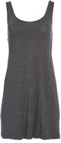 Pure Style Girlfriends Charcoal Low-Back Sleeveless Dress