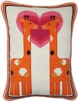Jonathan Adler Junior Needlepoint Pillow - Giraffe