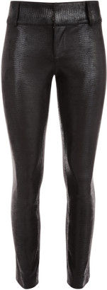 Alice + Olivia Stacey Vegan Leather Ankle Pant