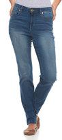 Gloria Vanderbilt Women's Bridget Midrise Slim Straight-Leg Jeans
