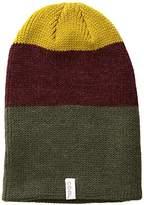 Coal Men's The frena Fine Knit Striped Beanie Hat