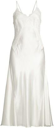 Josie Natori Jolie Silk Slip Dress