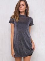 MinkPink Mori Lurex Tshirt Dress