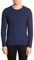 Zachary Prell St. Gallo Ribbed Crew Neck Sweater