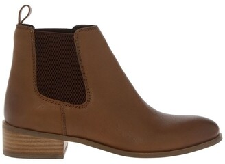 Siren Sargeant Tan Ankle Boot