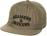 Poler Roamers And Seekers Nylon Snapback Cap Green
