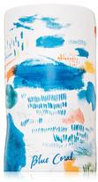 Sketchbook Ceramic Candle - Blue Coral