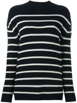 MiH Jeans ribbed striped jumper