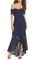 Shoshanna Women's Vanowen Lace Off The Shoulder Gown