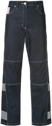 Lærke Andersen Welder cropped wide leg jeans