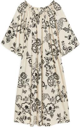Arket Ruffled Kaftan Dress