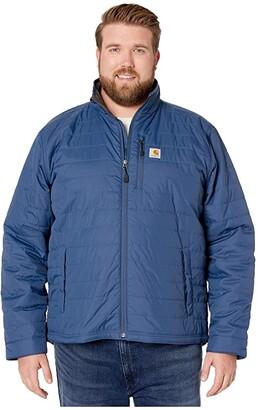 Carhartt Big Tall Gilliam Jacket (Dark Blue) Men's Coat