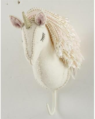 Mud Pie Gold Horn Unicorn Hook