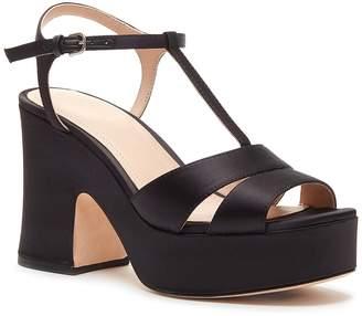 Pour La Victoire Nolla Satin Platform Sandal