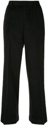Undercover Furry Wide Leg Trousers