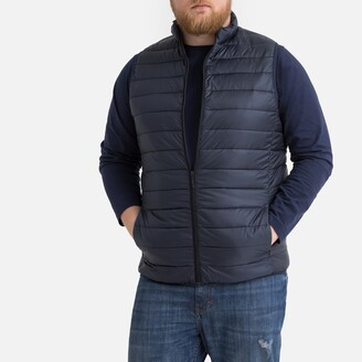 La Redoute Collections Plus Short Padded Bodywarmer with Pockets