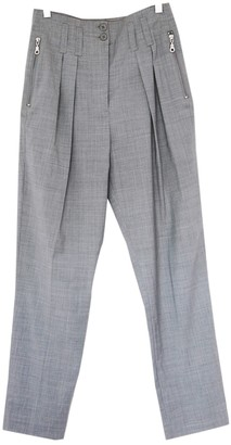 Whistles Grey Trousers for Women