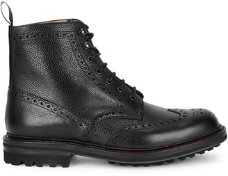 Church's McFarlane black leather ankle boots