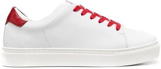 Joshua Sanders Square Toe Low-Top Sneakers