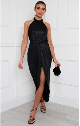 IKRUSH Serena Halterneck Backless Maxi Dress