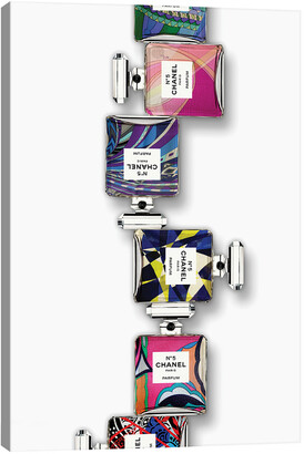 iCanvas Chanel X Pucci Wall Art