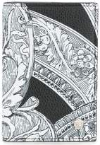 Versace Baroque print long wallet