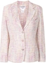Chanel Pre Owned boucle knit jacket