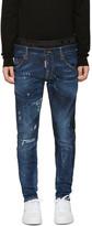 DSQUARED2 Blue Uniform Mixed Jeans