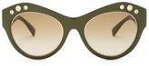 Versace Women's Cat Eye Sunglasses