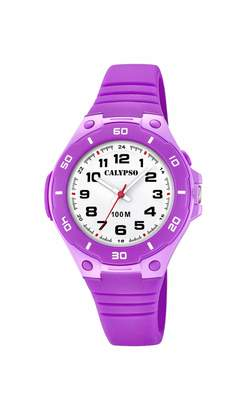 Calypso Watches Watches Unisex Adult Analogue Classic Quartz Watch with Plastic Strap K5758/4