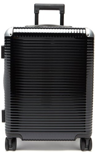 FPM Milano Bank Light Spinner 55 Cabin Suitcase - Black