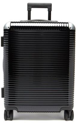 Fabbrica Pelletterie Milano Bank Light Spinner 55 Cabin Suitcase - Black