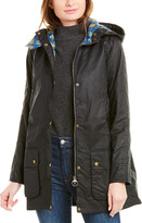 Barbour Love Waxed Trench Coat