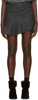 Etoile Isabel Marant Grey Jevil Ruffle Miniskirt